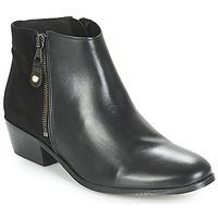 Zapatos Mujer Botas de caña baja André THAIS Negro