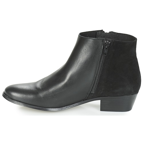 Caña De Botas Baja Negro Mujer Yygf76b