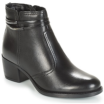 Zapatos Mujer Botas de caña baja André CALOTINE Negro