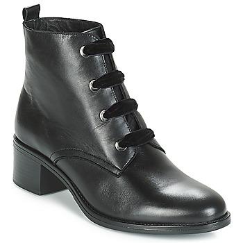 Zapatos Mujer Botas de caña baja André THARA Negro