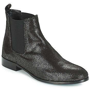 Zapatos Mujer Botas de caña baja André AGRIA Negro