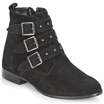 Zapatos Mujer Botas de caña baja André TIRA Negro