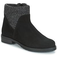 Zapatos Mujer Botas de caña baja André TRIAL Negro