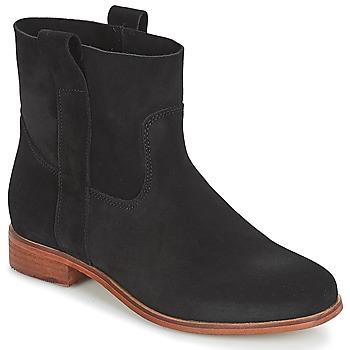 Zapatos Mujer Botas de caña baja André TITAINE Negro