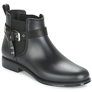 Zapatos Mujer Botas de caña baja André THAMES Negro