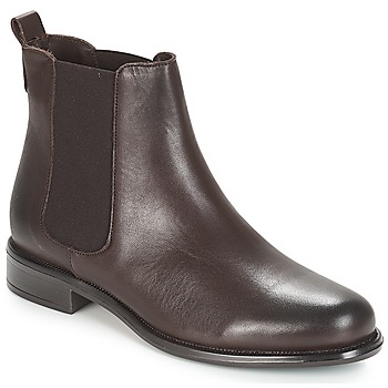 Zapatos Mujer Botas de caña baja André CARAMEL Marrón
