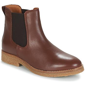 Zapatos Mujer Botas de caña baja André THELA Marrón