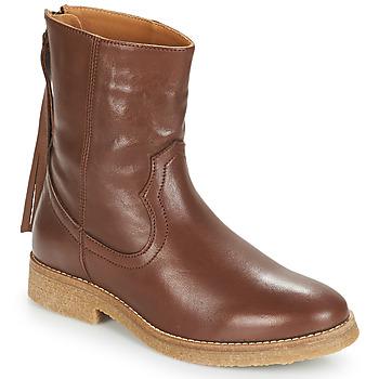 Zapatos Mujer Botas de caña baja André THEO Marrón
