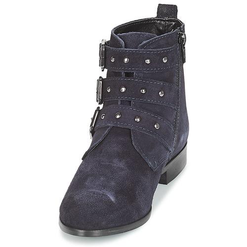 Tira André Zapatos Caña Botas De Baja Mujer Marino 6gfbY7y