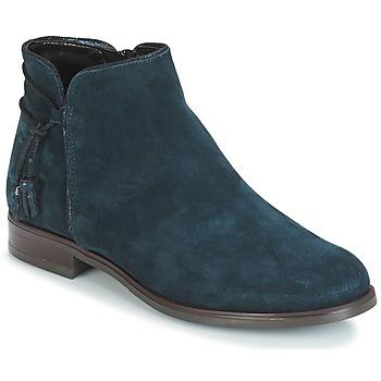 Zapatos Mujer Botas de caña baja André BILLY Azul