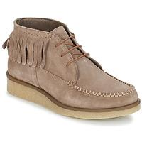 Zapatos Mujer Botas de caña baja André TANVI Beige
