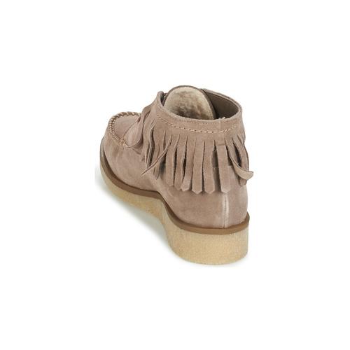 Botas Zapatos Beige André De Baja Caña Mujer Tanvi wm0N8nOv