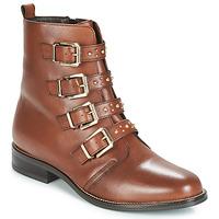 Zapatos Mujer Botas de caña baja André TODAY Marrón