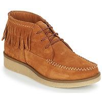 Zapatos Mujer Botas de caña baja André TANVI Marrón