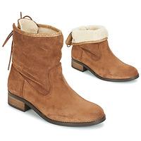 Zapatos Mujer Botas de caña baja André TELEX Marrón