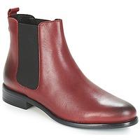 Zapatos Mujer Botas de caña baja André CARAMEL Rojo