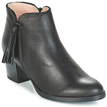 Zapatos Mujer Botines André PERRINE Negro