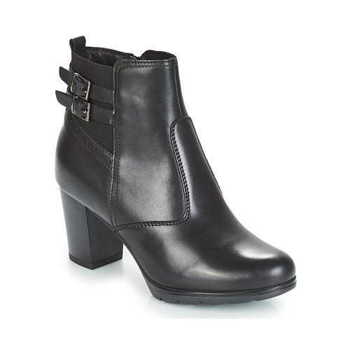 André CARACAL Negro - Envío gratis | ! - Zapatos Botines Mujer
