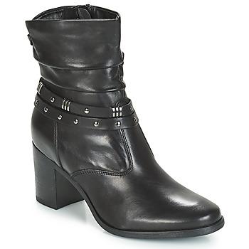 Zapatos Mujer Botas de caña baja André TOCSIN Negro
