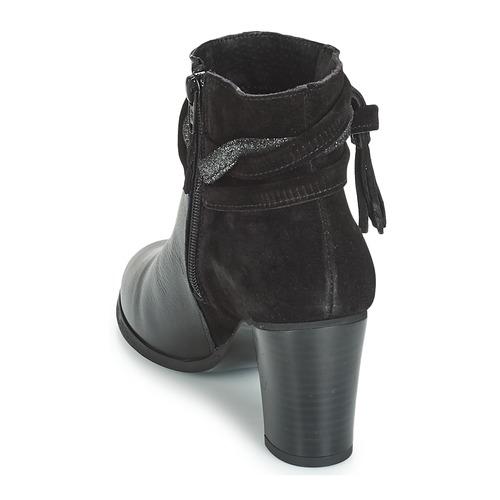 Negro Botines Mujer Zapatos André Tiara Own0Pk