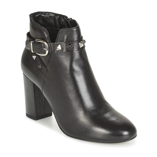 Botas Mujer Zapatos De Caña André Negro Baja Fly wPXnOk80