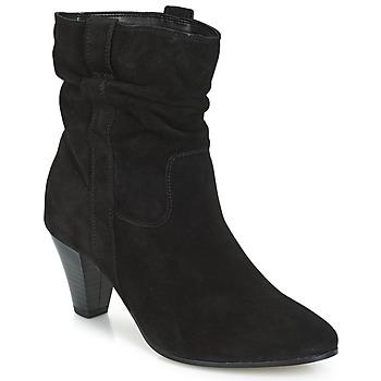 Zapatos Mujer Botas de caña baja André FANFAN Negro