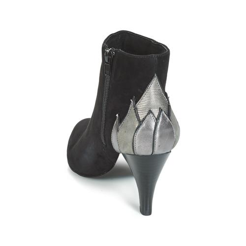 André Ficus Botines Negro Zapatos Mujer lJ1cTFK