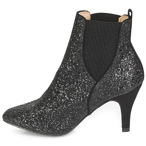 Mujer Botines April André Zapatos Negro lFJcKT13