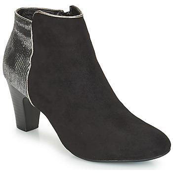 Zapatos Mujer Botas de caña baja André FLORIE Negro