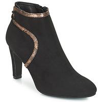 Zapatos Mujer Botines André AUREL Negro