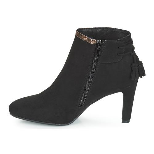 Botines Zapatos Aurel André Mujer Negro rdeCoBWx