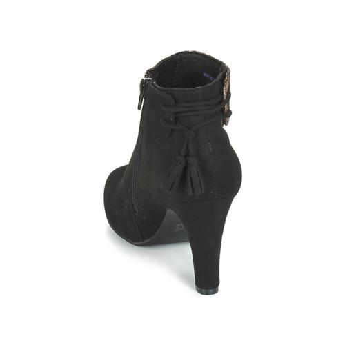 André Mujer Aurel Zapatos Botines Negro LVpGSUzMq