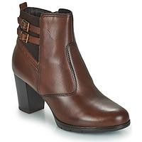 Zapatos Mujer Botas de caña baja André CARACAL Marrón