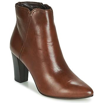 Zapatos Mujer Botas de caña baja André FAST Marrón