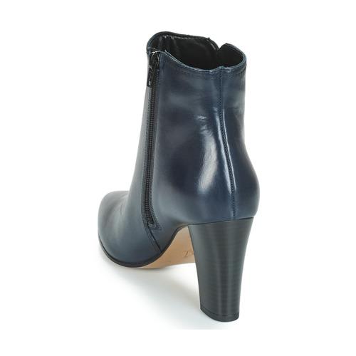 Zapatos Baja Caña De Botas Fast Marino Mujer André HI2DE9