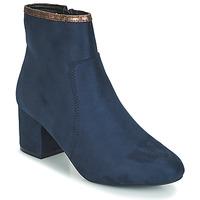 Zapatos Mujer Botas de caña baja André FALOU Azul