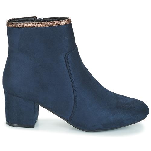 De Zapatos Baja Falou Azul André Caña Mujer Botas 0kPwOn
