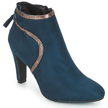 Zapatos Mujer Botines André AUREL Azul