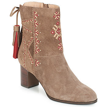 Zapatos Mujer Botines André TZIGANE Beige