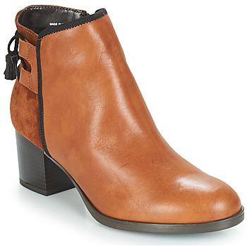 Zapatos Mujer Botas de caña baja André TIRON Marrón