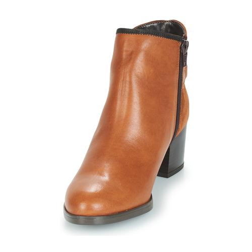André Marrón Mujer Botas Baja Zapatos De Caña Tiron rdhQCxBts