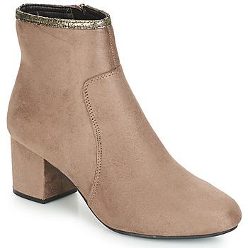 Zapatos Mujer Botas de caña baja André FALOU Beige