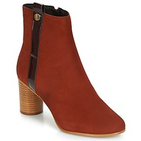 Zapatos Mujer Botines André FILO Rojo