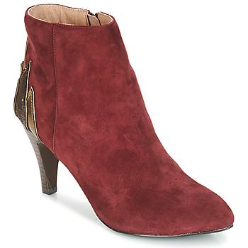 Zapatos Mujer Botas de caña baja André FICUS Burdeo