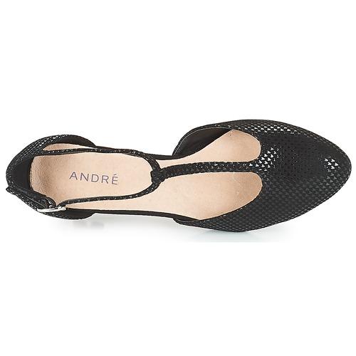André Tacón De De Negro Zapatos Tacón Zapatos Negro Zapatos André De dhrQst