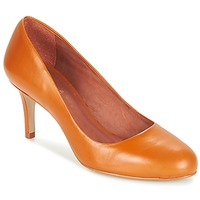 Zapatos Mujer Zapatos de tacón André FLAVIE Marrón / Naranja