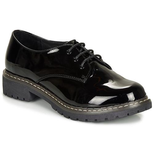 André NEBULEUSE Negro - Envío gratis   ! - Zapatos Derbie Mujer