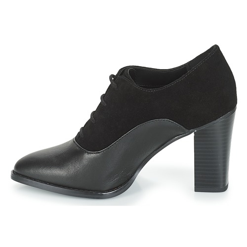 Derbieamp; Zapatos André Negro Mujer Fei Richelieu xhrsCtQd