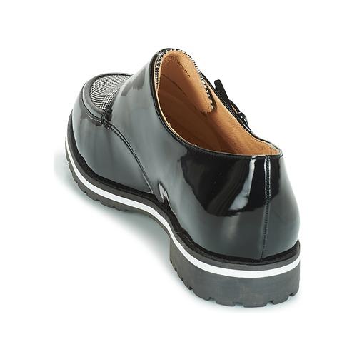 Zapatos Derbie André Achille Negro Mujer pUSMVzq