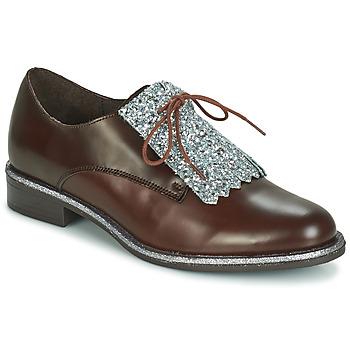 Zapatos Mujer Derbie André FATOU Marrón